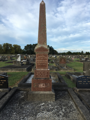Picture of Taruheru cemetery, block SEC3, plot 1202.