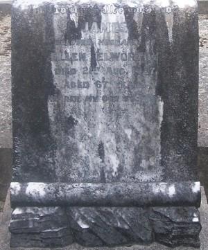 Picture of Taruheru cemetery, block SEC3, plot 1223.