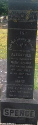 Picture of Taruheru cemetery, block SEC3, plot 1229.