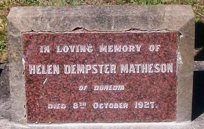 Picture of Taruheru cemetery, block SEC3, plot 1249.