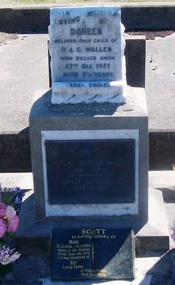 Picture of Taruheru cemetery, block SEC3, plot 1269.