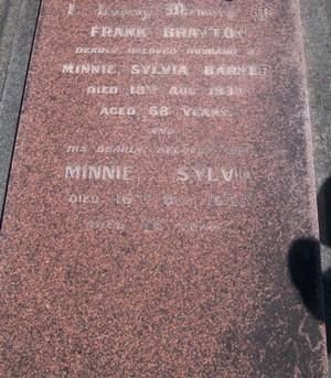 Picture of Taruheru cemetery, block SEC3, plot 1320.