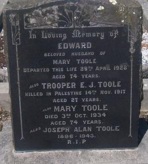 Picture of Taruheru cemetery, block SEC3, plot 1353.