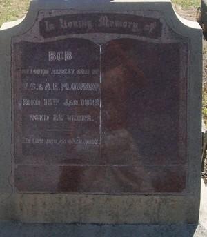 Picture of Taruheru cemetery, block SEC3, plot 1382.