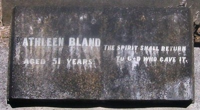 Picture of Taruheru cemetery, block SEC3, plot 899.