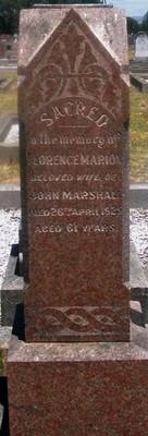 Picture of Taruheru cemetery, block SEC3, plot 903.