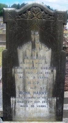Picture of Taruheru cemetery, block SEC3, plot 905.