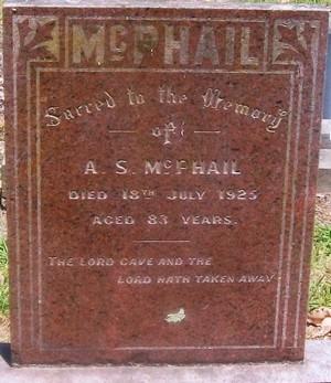 Picture of Taruheru cemetery, block SEC3, plot 909.