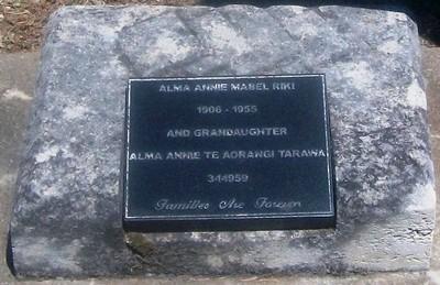 Picture of Taruheru cemetery, block SEC3, plot 946B.
