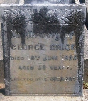 Picture of Taruheru cemetery, block SEC3, plot 950.