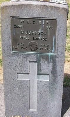Picture of Taruheru cemetery, block S, plot 144.