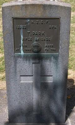 Picture of Taruheru cemetery, block S, plot 148.