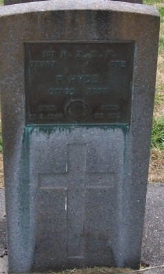 Picture of Taruheru cemetery, block S, plot 163.