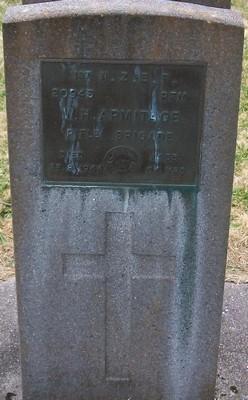 Picture of Taruheru cemetery, block S, plot 169.
