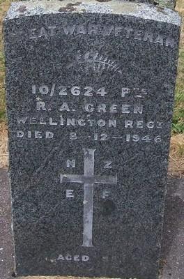 Picture of Taruheru cemetery, block S, plot 194.
