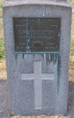 Picture of Taruheru cemetery, block S, plot 197.