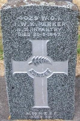 Picture of Taruheru cemetery, block S, plot 201.