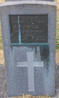 Picture of Taruheru cemetery, block S, plot 206.