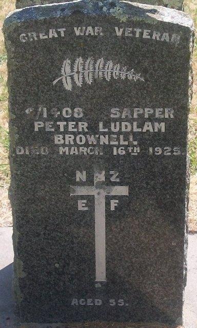 Picture of Taruheru cemetery, block S, plot 22.