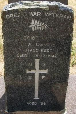 Picture of Taruheru cemetery, block S, plot 225.