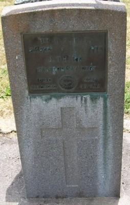 Picture of Taruheru cemetery, block S, plot 236.