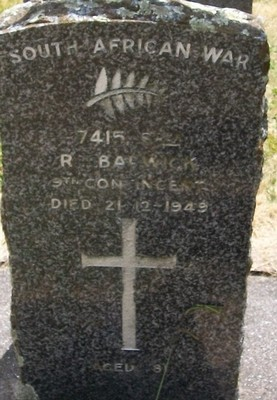 Picture of Taruheru cemetery, block S, plot 242.