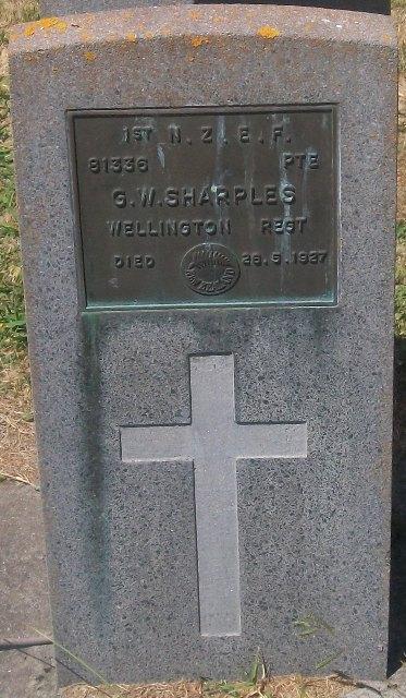 Picture of Taruheru cemetery, block S, plot 27.