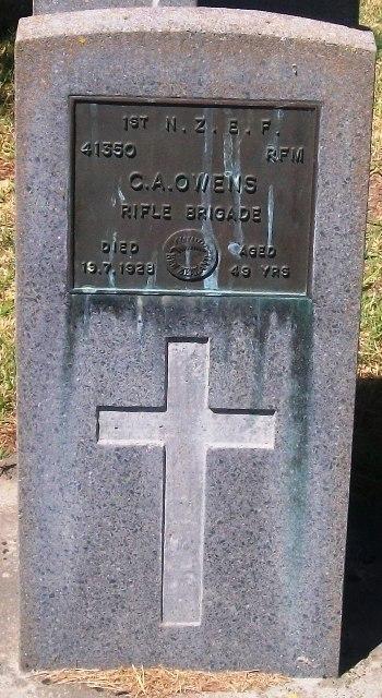 Picture of Taruheru cemetery, block S, plot 33.