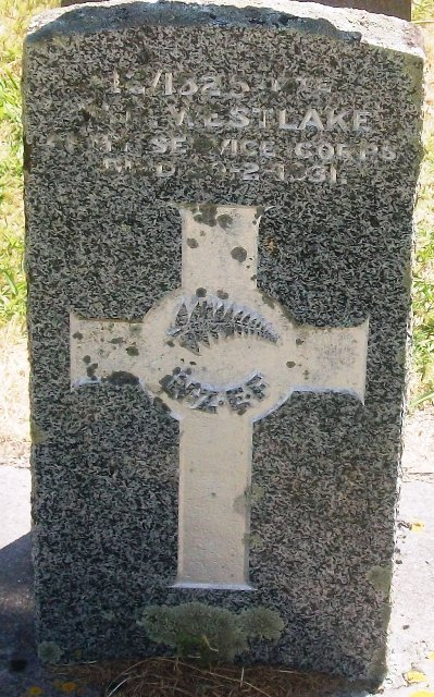 Picture of Taruheru cemetery, block S, plot 47.