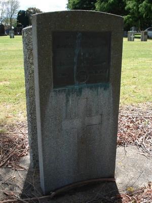 Picture of Taruheru cemetery, block S, plot 71.