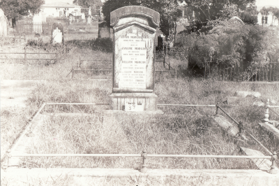 Historic picture of Makaraka cemetery, block MKA, plot 39.