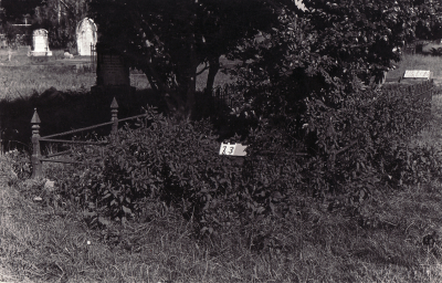 Historic picture of Makaraka cemetery, block MKA, plot 73.