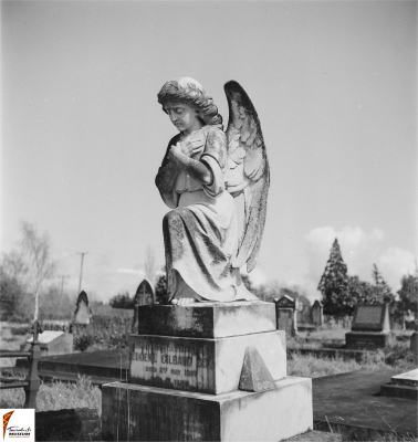 Historic picture of Makaraka cemetery, block MKB, plot 90.