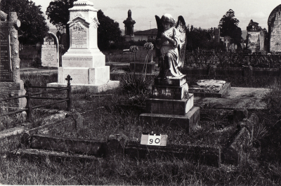 Historic picture of Makaraka cemetery, block MKB, plot 90.