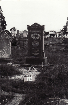 Historic picture of Makaraka cemetery, block MKB, plot 97.
