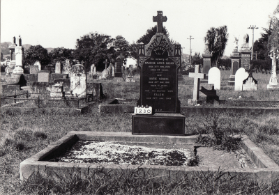 Historic picture of Makaraka cemetery, block MKC, plot 1230.