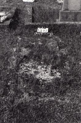 Historic picture of Makaraka cemetery, block MKC, plot 1273.
