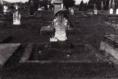 Historic picture of Makaraka cemetery, block MKC, plot 1379.