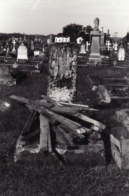 Historic picture of Makaraka cemetery, block MKC, plot 1422.