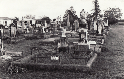 Historic picture of Makaraka cemetery, block MKC, plot 901.