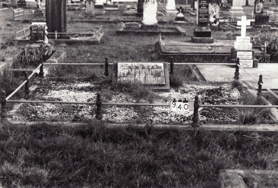 Historic picture of Makaraka cemetery, block MKC, plot 940.