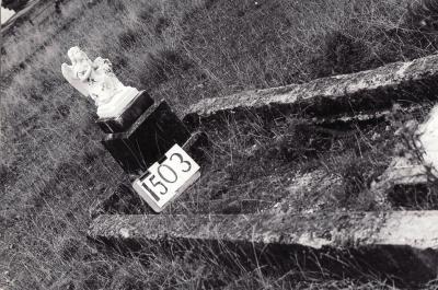 Historic picture of Makaraka cemetery, block MKE, plot 1503.