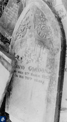 Historic picture of Makaraka cemetery, block MKF, plot 1344.