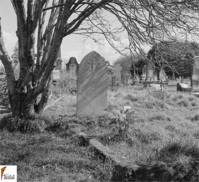 Historic picture of Makaraka cemetery, block MKH, plot 279.