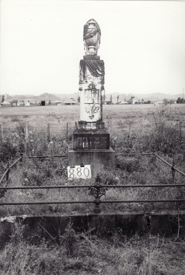Historic picture of Makaraka cemetery, block MKI, plot 880.