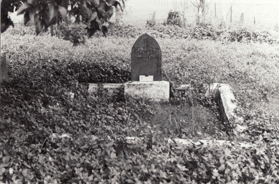 Historic picture of Makaraka cemetery, block MKJ, plot 875.