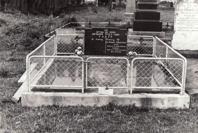 Historic picture of Makaraka cemetery, block MKL/JEW, plot 2.