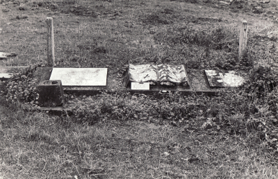 Historic picture of Makaraka cemetery, block MKL/JEW, plot 5.