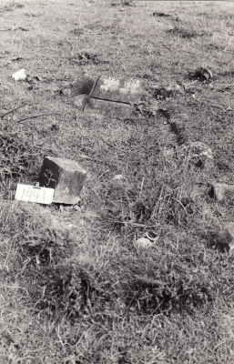Historic picture of Makaraka cemetery, block MKM, plot 1441.