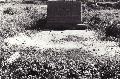 Historic picture of Makaraka cemetery, block MKM, plot 1556.